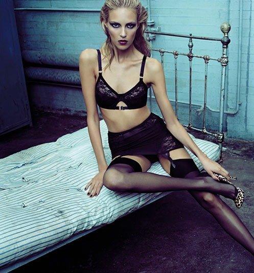 Extreme Skinny Fashion Girls